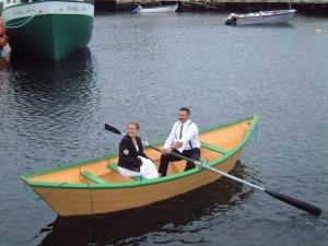 Our wedding photo in Renews, Newfoundland